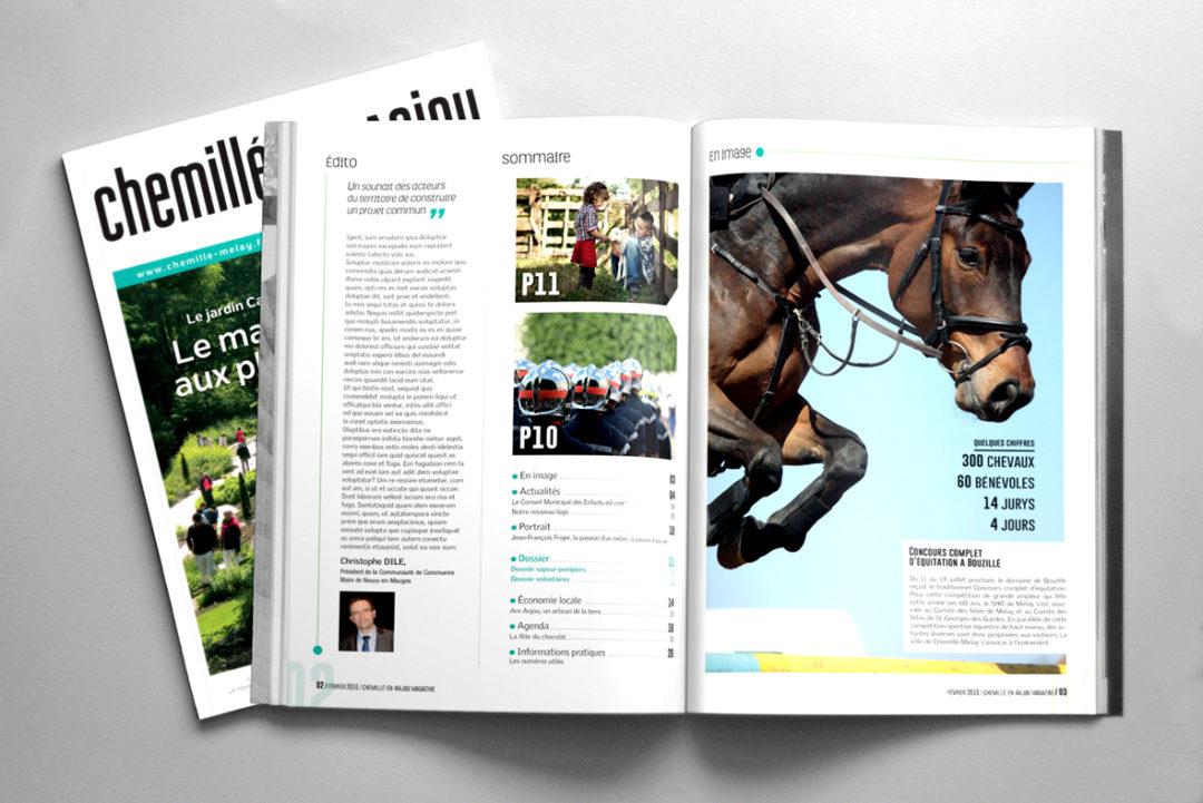 magazine, identité visuelle, appel d'offre, marché public, presse territoriale, maquette, maquettiste, graphiste freelance