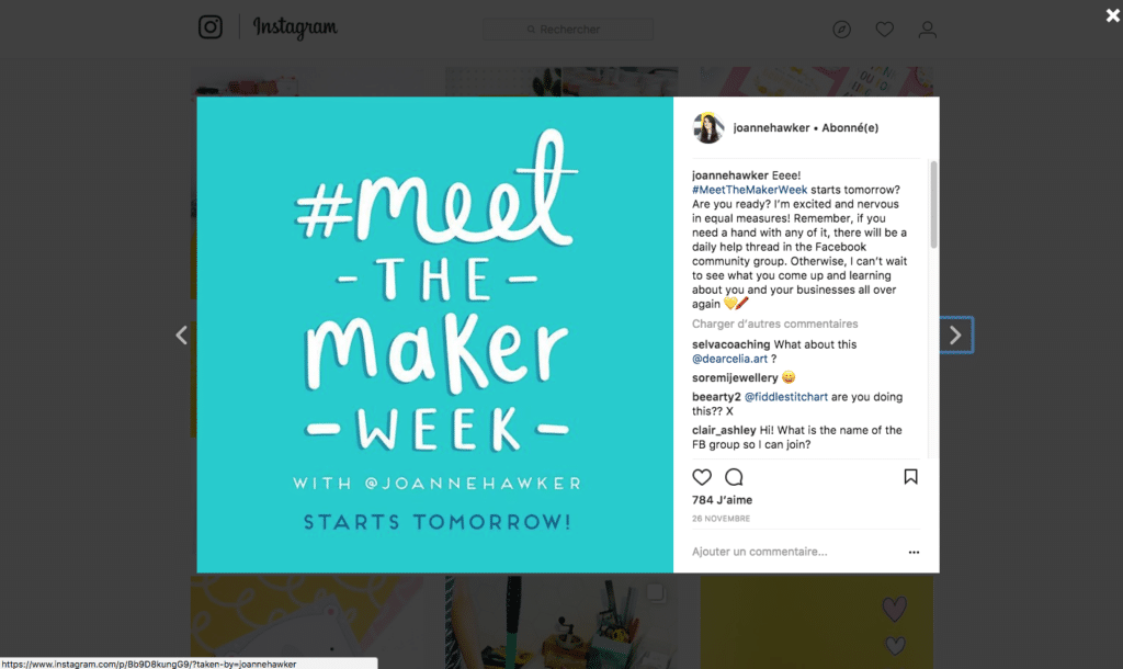 meet the maker week