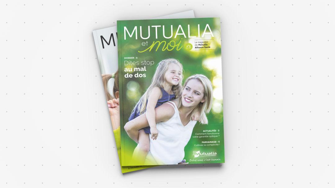 Montage magazine, mise en page plaquette