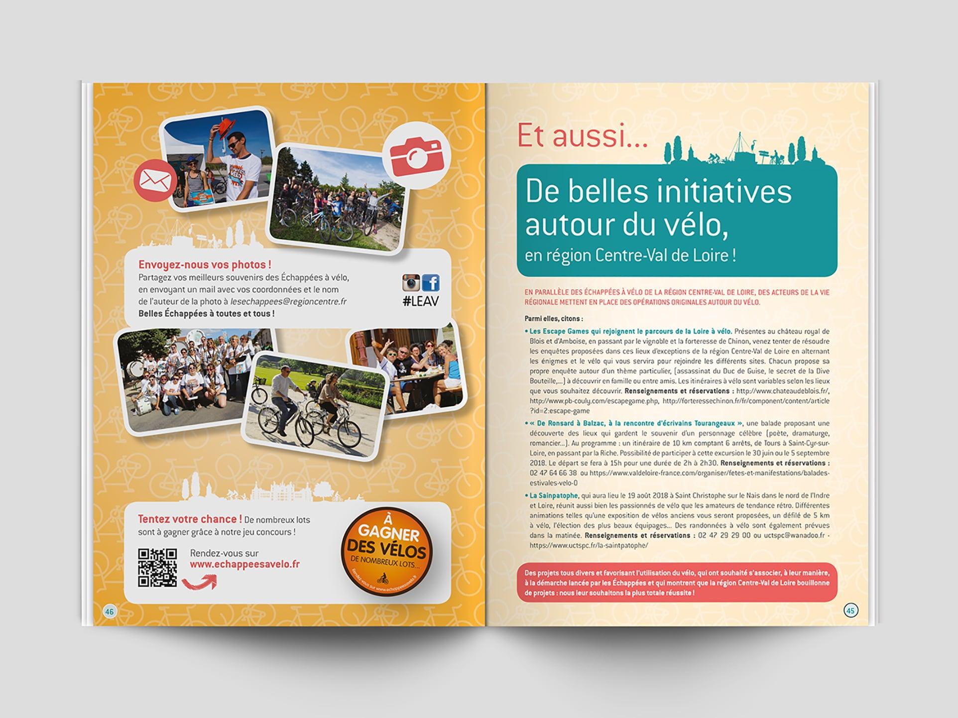 Guide Echappée de la Loire à vélo